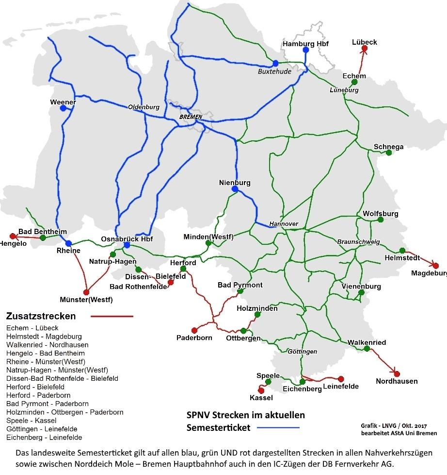 Niedersachsen Karte Mit Städten.Das Landesweite Semesterticket Niedersachsen Bremen Asta
